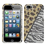 Insten® Diamante Phone Protector Cover F/iPhone 5/5S; Hottie