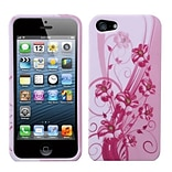 Insten® Phone Protector Cover F/iPhone 5/5S; Blooming Lily