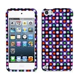 Insten® Phone Protector Case For iPod Touch 5th Gen; Grid Dots