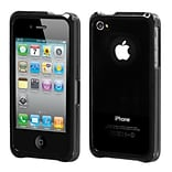 Insten® Chrome Coating Metal Surround Shield Protector Cover F/iPhone 4/4S; Gunmetal