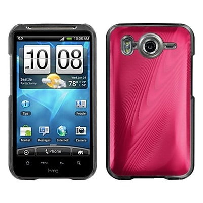 Insten® Back Protector Cover For HTC Inspire 4G; Red Cosmo