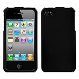 Insten® Phone Protector Cover F/iPhone 4/4S; Solid Black
