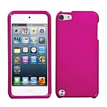 Insten® Phone Protector Case For iPod Touch 5th Gen; Solid Hot-Pink