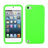 Insten® Solid Skin Cover For iPod Touch 5th Gen; Electric Green