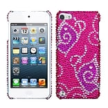 Insten® Diamante Back Protector Cover For iPod Touch 5th Gen; Tattoo Butterfly