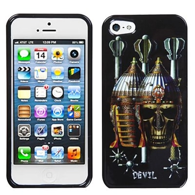 Insten® Phone Protector Cover F/iPhone 5/5S; Ancient Devil