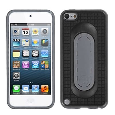 Insten® Snap Tail Stand Protector Cover For iPod Touch 5th Gen, Black