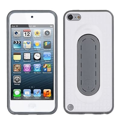 Insten® Snap Tail Stand Protector Cover For iPod Touch 5th Gen; White