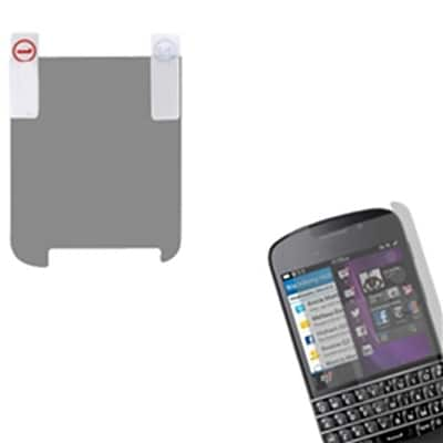 Insten® Anti-Grease LCD Screen Protector For BlackBerry Q10; Clear