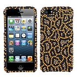 Insten® Diamante Phone Protector Cover F/iPhone 5/5S; Jeweled Jaguar