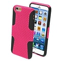 Insten® Astronoot Phone Protector Cover For 4.7 iPhone 6; Hot-Pink/Black