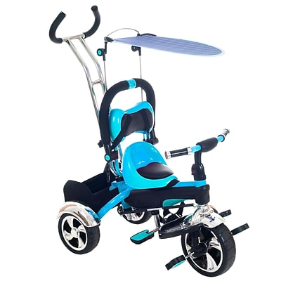 Lil Rider 15.5 x 41 Child Safe Trike Trainer, Blue