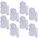Stalwart 8 Piece 72-852075 Wireless Window Security Alarm