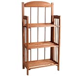 Lavish Home 3 Shelf Wood Bookcase