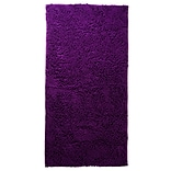 Lavish Home Carpet Shag Rug, Polyester 30 x 60 Purple