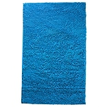 Lavish Home Blue Carpet Shag Rug