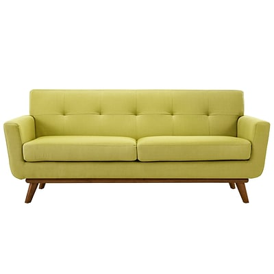 Modway Engage EEI-1179-WHE 1 Piece Polyester Loveseat, Wheatgrass