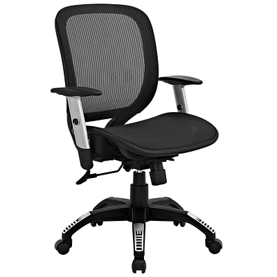 Modway EEI-1244-BLK Arillus All Mesh Office Chair; Black