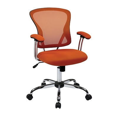 Office Star® Ave Six® Juliana Task Chair in Orange Mesh