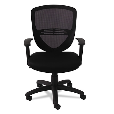 Office Settings VS Series Swivel/Tilt Mesh Task Chair, Black