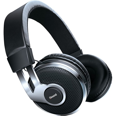 iSound® BT-2500 Wireless Headphones With Mic and Music Controls