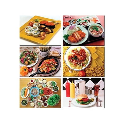 Melissa & Doug Multi-Ethnic Food Puzzle Set