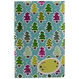 JAM Paper® Holiday Bubble Mailers, Medium, 8.5 x 12.25, Colorful Christmas Tree Pattern, 6/pack (SS3