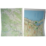 JAM Paper® Map Paper - 8.5 x 11 - Map Design - 100/pack