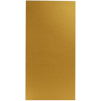 JAM Paper® Paper Pad - 3 x 6 - Star dream Metallic Gold - 50 Sheets per pad