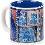Laurel Burch® Artistic Collection Mug, Indigo Cats Portrait