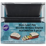 Wilton® Mini Loaf Pans; 3/Pack