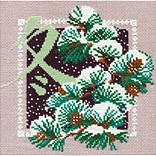 RIOLIS Winter Counted Cross Stitch Kit, Multicolor
