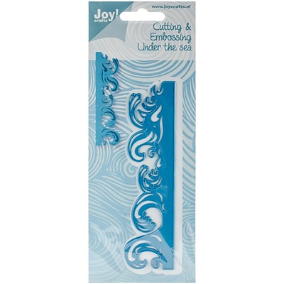 Ecstasy Crafts Joy! Crafts Cutting And Embossing Die, Waves