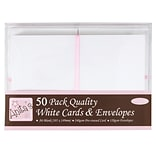Docrafts® Anitas Cards And Envelopes, A6, White