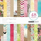 Kaisercraft Paper Pad, Expressions, 12 x 12