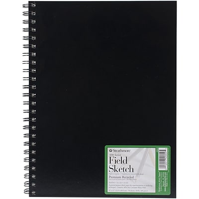 Strathmore® 60 lbs. Field Sketch Book, 9 x 12, Black
