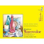 Strathmore® 140 lbs. Cold Pressed Spiralbound Watercolor Paper Pad, 18 x 24