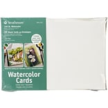 Strathmore® Cold Pressed Watercolor Cards And Envelopes, 5 x 7
