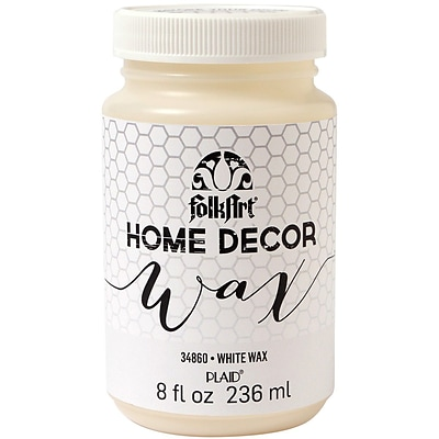 Plaid:Craft FolkArt 8 oz. Home Decor Wax Sealer, White