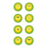 Teacher Created Resources Mini Sticker; Happy Suns Round, 378/Pack