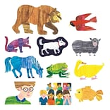 Little Folks Visuals Eric Carle Flannelboard Set, Brown Bear, Brown Bear, What Do You See? (LFV228