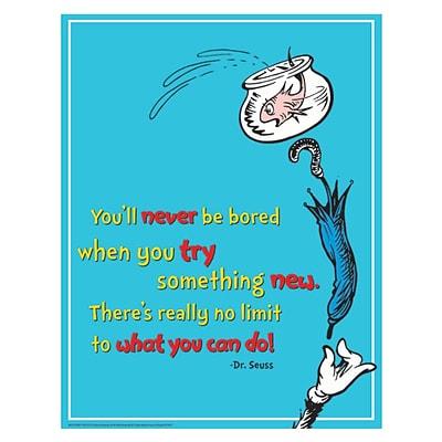 Eureka® Dr. Seuss™ Try Something New Poster, 17 x 22 (EU-837031)
