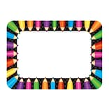 Teacher Created Resources Prek - 12th Grade Name Tags/Label; Colored Pencils, 36/Pack