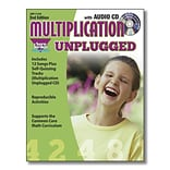 Sara Jordan™ Multiplication Unplugged Resource/Lyrics Book with Audio CD, Grade 3rd