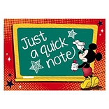 Eureka® 4 x 6 Post Card, Mickey Teacher, 36/Pack