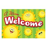Teacher Created Resources 4 x 6 Welcome Post Card; Happy Suns, 30/Pack