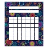 Teacher Created Resources Mini Incentive Chart, Fireworks, 5-1/4 x 6 (TCR5447)