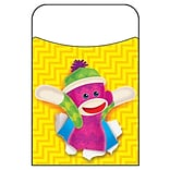 Trend Enterprises® Sock Monkeys Terrific Pocket; 40/Pack