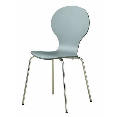 Monarch Dining Wood / Metal Chair Gray