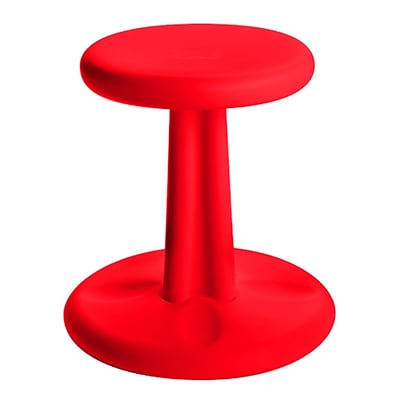 Kore™ Kids Wobble Plastic Chair; Red